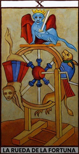 carta la rueda de la fortuna