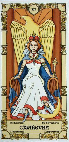 la emperatriz carta del tarot