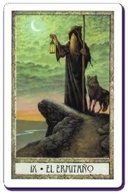 el ermitaño carta del tarot