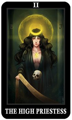 la sacerdotisa carta tarot