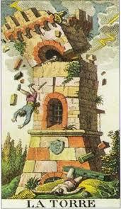 la torre carta del tarot