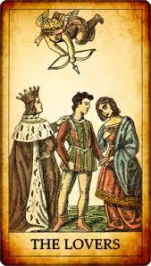 los enamorados carta del tarot