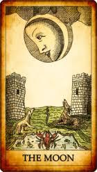 la luna carta tarot