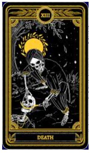 la muerte carta del tarot