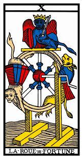 carta del tarot rueda